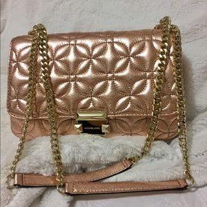 Michale Kors Sloan Metallic shoulder bag